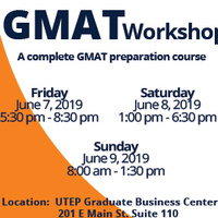 GRADUATE MANAGEMENT ADMISSION TEST (GMAT) WORKSHOP