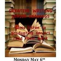 Creative Writing  Graduating Senior Readings