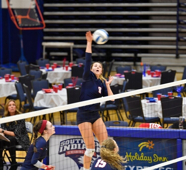 USI Volleyball vs Arkansas Tech University at Evansville, IN, Screaming Eagles Arena