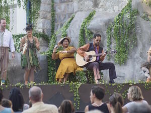 Go With Mixolo: An open-air production of Love's Labour's Lost