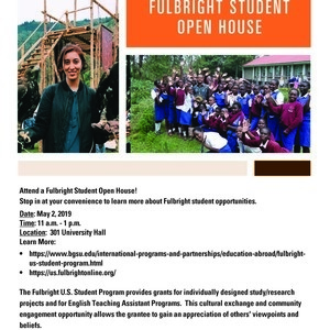 Fulbright Student Open House