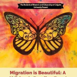 Migration is Beautiful:  A Children's Reading Event at the Colgate Bookstore