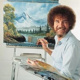 Painting with Bob Ross
