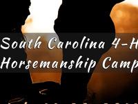 SC 4-H Horsemanship Camp
