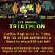 Nellie's 1st Annual Triathlon