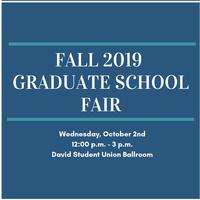 Fall 2019 Graduate School Fair