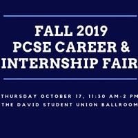 Fall 2019 PCSE Career & Internship Fair