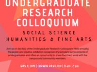 2019 Undergraduate Research Colloquium