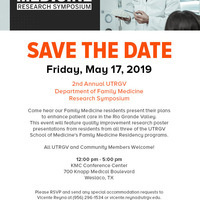 2nd Annual Family Medicine Research Symposium