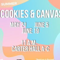 Summer Cookies and Canvas