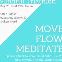 Mindful Triathlon: Move, Flow, Meditate