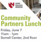 Community Partner Lunch and Membership Fair