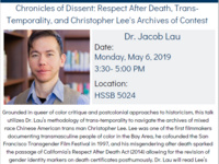Chronicles of Dissent: Respect After Death, Trans-Temporality, and Christopher Lee's Archives of Contest