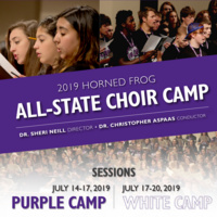 TCU All-State Choir Camp
