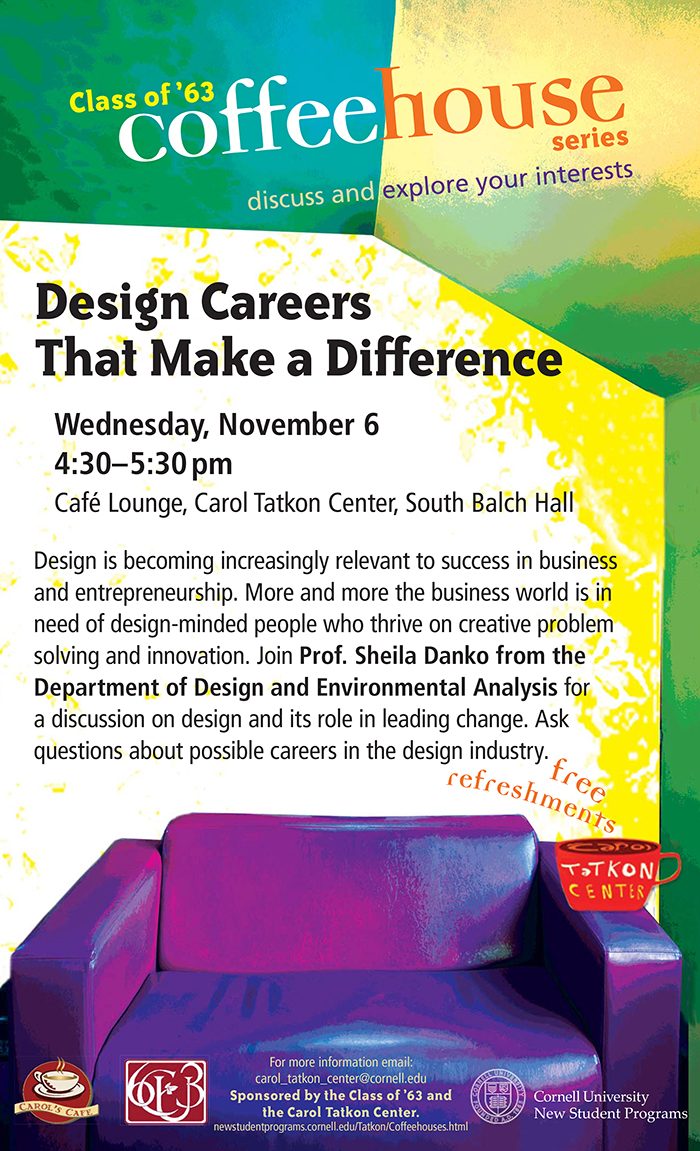 Design Careers That Make a Difference - Cornell